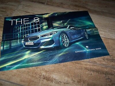 Official Poster 4 parties BMW The 8  2018 //