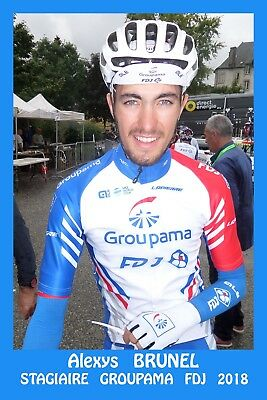 -Cyclisme      Cp      Alexys     Brunel    Stagiaire    Groupama    Fdj    2018