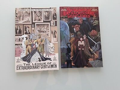 THE LEAGUE OF EXTRAORDINARY GENTLEMEN Volume 1 & 2 Alan Moore