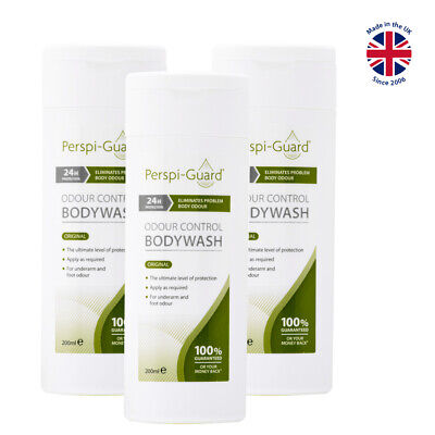 Perspi-Guard® Odour Control Bodywash 200ml - TRIPLE PACK
