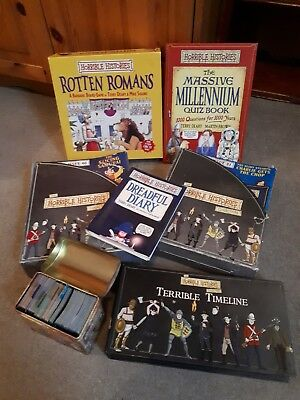 Complete The Horrible Histories Magazine - collection and extras bundle