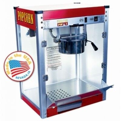 COMMERCIAL  POPCORN USA MACHINE THEATER ,Popcorn, machine 4oz+ 1x poster