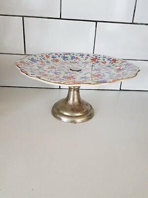 Vintage round Cake Stand perfect for Birthday Wedding Parties.