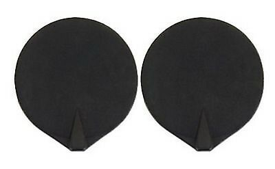 "CHATTANOOGA 2"" ELECTRODE RUBBER CARBON RE-USABLE, BLACK ( 2 / PACK) Case of 10"