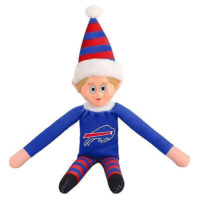 NEW w/Tags NFL Buffalo Bills Christmas Holiday Football Elf - FREE Shipping!