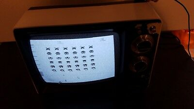 """Super cool Vintage RCA AXR 120Y DIAL TV Solid State 13"""" Television / steampunk"""