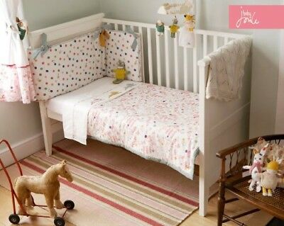 Joules Farm Cot / Toddler Bed Nursery Bedding  Bumper, Quilt, Cot Tidy, Sheets