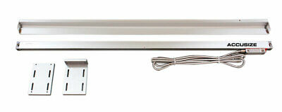 "40"" Glass Scale w/ Cover for DITRON DRO, Resolution .0002"", 10"" Cable #SIN3-0111"