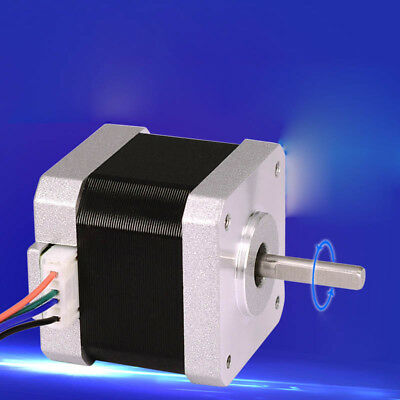 Nema 17 Stepper Motor DC12V 1.7A 0.45N.m With Connector Cable For 3D Printer CNC