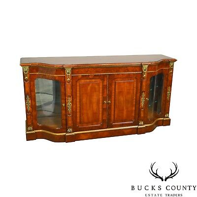 Henredon Grand Provenance Collection French Louis XV Style Walnut Sideboard (B)
