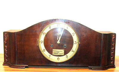 Antique Table Clock Mantel Clock*MAUTHE*Made in Germany*