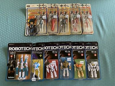 ROBOTECH Action Figure Collection