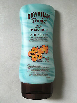 TOP HAWAIIAN TROPIC Silk Hydration AIR SOFT After Sun Lotion, 180 ml NEU + OVP