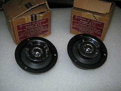 Goodmans Of England Model D. L. 1 Ultra High Compression Lens Tweeter Pair Of Tw