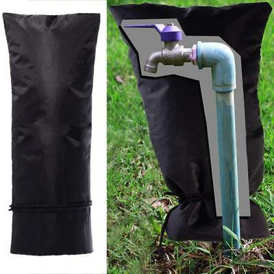 Faucet Thickened Warm Cover Winter Outdoor Water Pipe Warm Socks Reusable Black