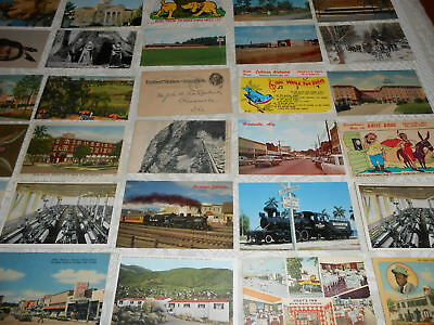 Lot Of 100 Old Postcards All Are From Places in U.S.A.  3