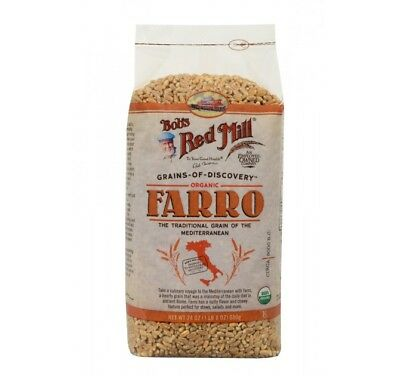 Bob's Red Mill Organic Farro Grain - 24 oz - Case of 4