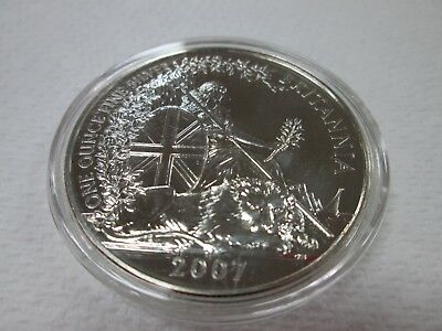 United Kingdom 2 Pounds 2007 Britannia 1 Oz Silver
