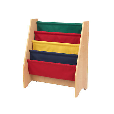KIDKRAFT PRIMARY SLING Bookshelf 5 Shelves Transitional Kids