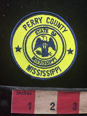 State Of Mississippi PERRY COUNTY Patch 74K7