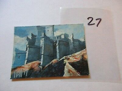 Game of Thrones Season 7 Hand Drawn Sketch Card by Charles Hall - 27