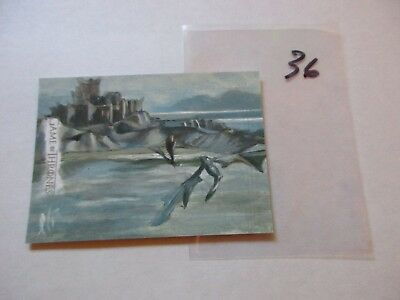 Game of Thrones Season 7 Hand Drawn Sketch Card by Lee Lightfoot - 36