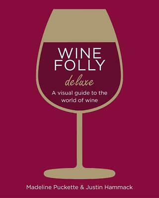Wine Folly: Magnum Edition: The Master Guide by Madeline Puckette Hardcover Book