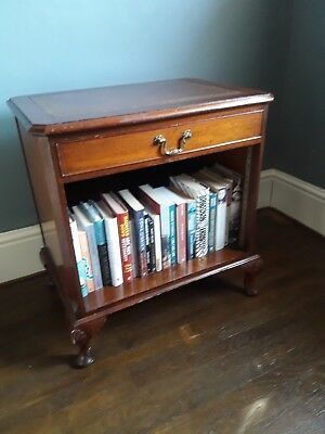 Mahogany, Edwardian hall table/bookcase