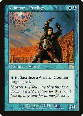 MAGIC THE GATHERING - ONSLAUGHT - VOIDMAGE PRODIGY X1 - NrMt