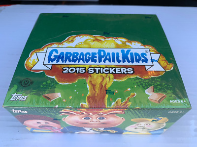 Topps Garbage Pail Kids 2015 STICKERS 24 Pack Trading Card HOBBY Display BOX