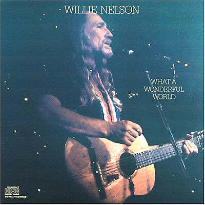 "WILLIE NELSON Sings of our ""Wonderful World"" from Great American Songbook New CD"