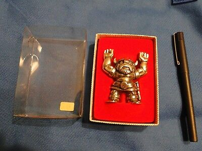 """Norge ~ 3"""" Pewter Viking A.s Tinn -Per Handstopd Norway ~ Nos ~ W/ Box"""