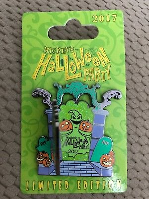 Mickey's Halloween Party 2017 Limited Edition Pin-nightmare Before Christmas