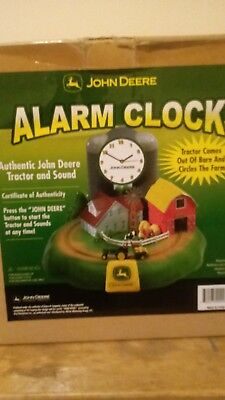 John Deere Tractor Alarm Clock with Sound and Moving Tractor