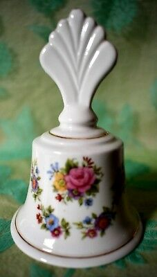 Lysander BELL Fine bone China multi color Flowers Made in England 4 inches tall