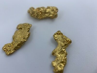 Australia Natural Gold Nugget /nuggets Weight 3.37 Grams