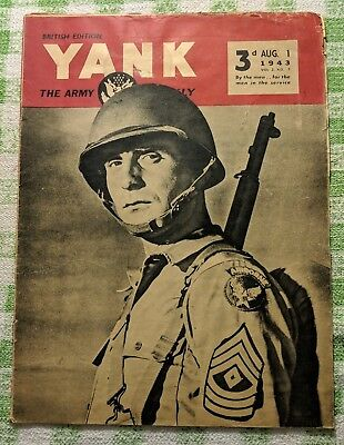 Yank - The Army Weekly (British Edition) - Vol.2, No. 7 - August 1, 1943
