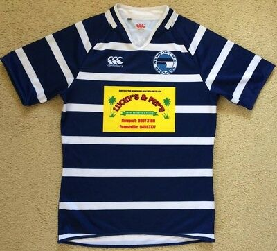 #21 Newport Breakers Rugby Club Jersey - Canterbury - Mens Size L - VGC
