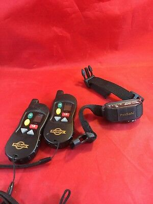 PetSafe Remote Dog Trainer Collar RFA-473 with Remote RFA-467 NEEDS BATTERIES
