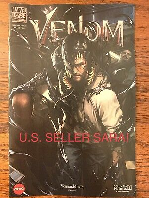 3X Marvel Limited Edition AMC Ex. Movie Venom #1 One Shot Comic IN HAND 2018