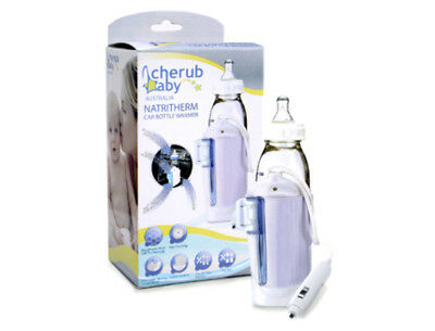 New Cherub Baby Natritherm Car Bottle and Food Warmer Free Express Shipping