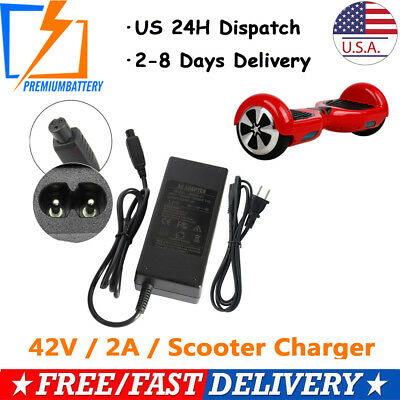 Power Adapter Charger For 2 Wheel Self Balancing Scooter Hoverboard Unicycle US
