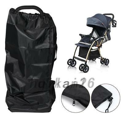 Gate Check Pram Travel Bag Umbrella Buggy/Stroller/Pushchair Waterproof Cover UK