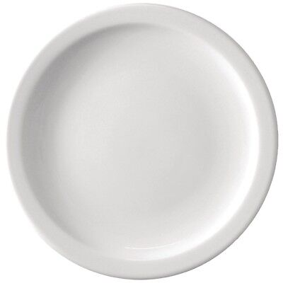 Athena Hotelware Narrow Rimmed Plates 11 - Pack of 36 | Porcelain Dinnerware