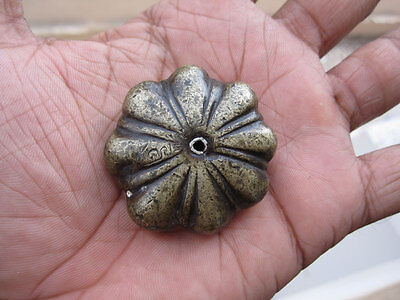 An Old or antique unique shaped Opium Bell Metal Bronze Scales Weight