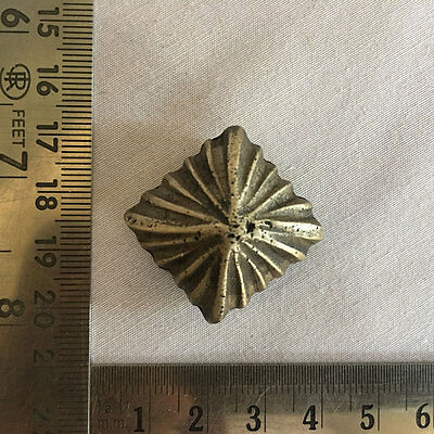 An Old antique unique shaped Opium Bell Metal Bronze miniature Scales Weight