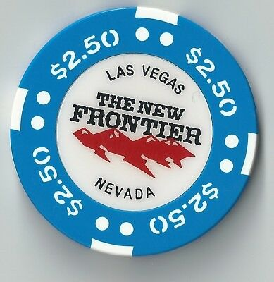 $2.50 Las Vegas New Frontier 7Th Edt Casino Chip Closed Bj Mold Now Closed