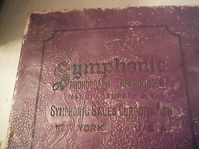 gramophone sound box-Symphonic Reproducer New in Box