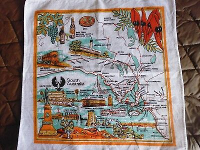 vintage   handkerchief = South Australia