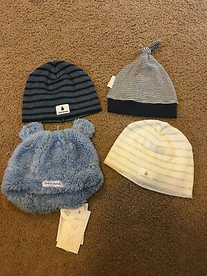 Babies Beanies - Country Road, Purebaby And Pumpkin Patch. NEW